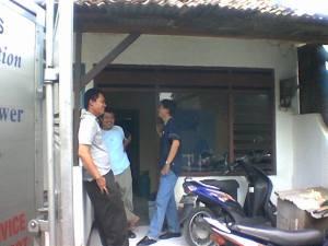 rumah kontrakan papa and mama